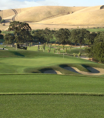 The Golf Course Bay Area Golf Courses Map on